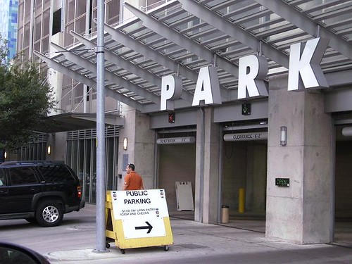 Who has legal claim to the Convention Cener parking garage?  The City of Austin or Harry Whittington?