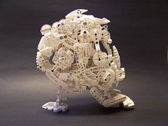 bionicle skull lego (monsterbrick) Tags: white skull lego bone bionicle moc greeble