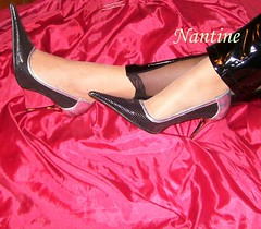 Black - silver pumps 1 (Kwnstantina) Tags: black sexy feet female fetish silver foot shoes toes pumps highheels toe legs boots nails barefoot heels latex sole soles schwarz damen nylon cush footfetish pvc fuss anklet sexylegs lack erotik highheeledshoes fetisch sexyshoes pvccatsuit sexyfeet feetfetish footjob dirtysoles pointyheels nylonfeet shoejob nylonfoot womaninhighheels heelfetish sexyheels overkneeboots shoescollection sexyfoot greekfeet leatherpumps shinypumps silverheels sexyfemalelegs pointypumps   sexywomenheels toesinnylons greekfootfemale femalegreekfoot blackheeledpumps glossypumps metalspitze elegantheels fetischschuh fetischschuhe erotikheels