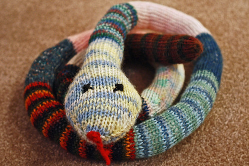 Another Shot of the Yarn Snake