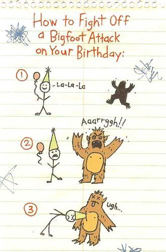 Bigfoot Attack Instructions