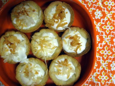 Mini Coconut Tarts