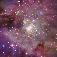 Orion Nebula image for Christ Consciousness