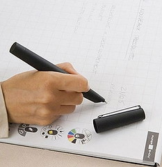 Bolígrafo con memoria