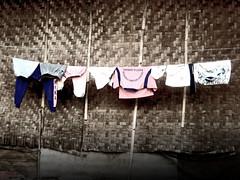 drying (motion2motion) Tags: trash dumpster clothing garbage working cleaning drying garbageman clothingline dirtyjobs jemuran bantargebang