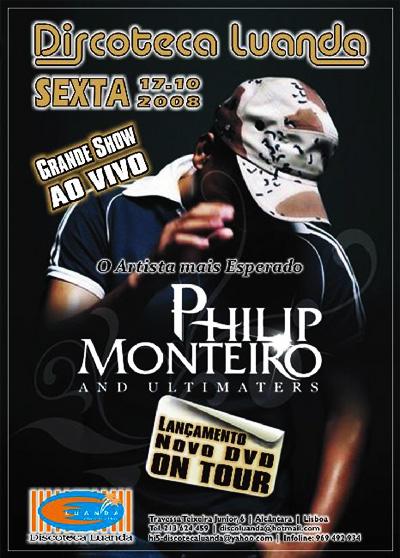 Philip Monteiro - Flyer