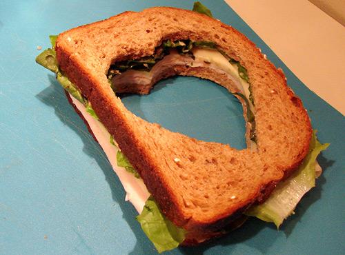 heart sandwich crust