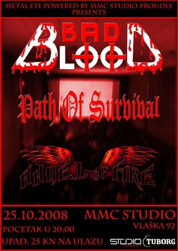 hardcore bad blood čakovec band NYHC MMC studio zagreb koncert
