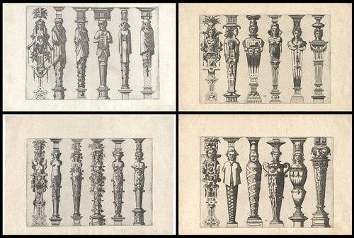 Caryatidum (Vulgas Termas vocat) 1565 quartet a