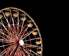 Are you afraid of heights? (RachelC.Photography) Tags: wheel lights evening fairgrounds nightshot massachusetts country newengland fair ferris ferriswheel rides midway amusements height topsfieldfair topsfield fiestashows