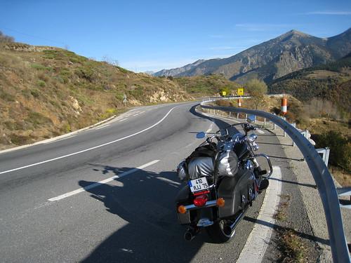 Entre Mont-Louis et Perpignan, en longeant La Têt