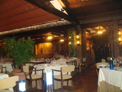 Salón principal del restaurante