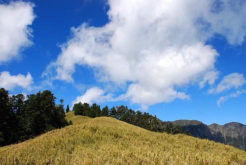藍天還是要有白雲才美