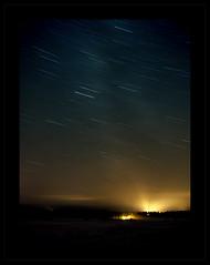 Starry Sky (Joni Niemel) Tags: longexposure sky stars pentax startrails 18mm starrysky abigfave k10d pentaxk10d