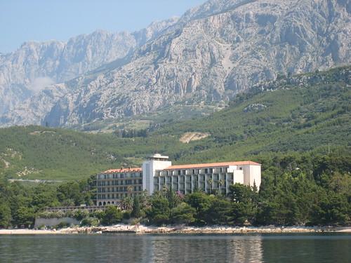 Sea view of Hotel Jadran
