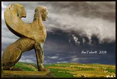 Greek Sphinx wants to fly ! (