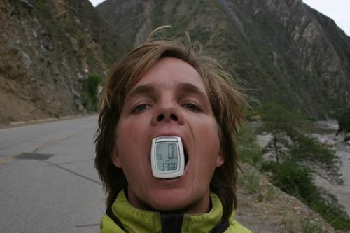 37.000 km. Near Limatambo, Peru.