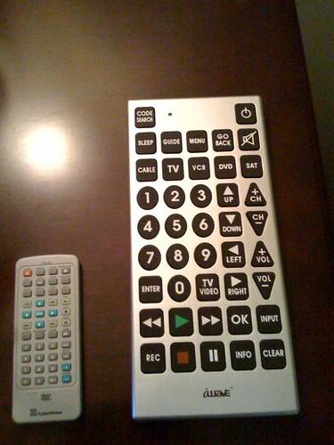 Huge Remote Control