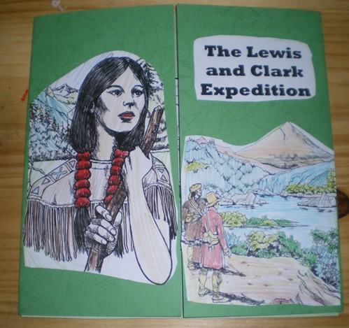 lewis and clark lapbook cover