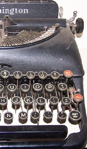 Photo: TYPEWRITER Remington Antique Crop By C. Gilliam
