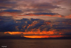 And then God rested.... (docjabagat) Tags: sunset sea seascape clouds island god cebu anawesomeshot qualitypixels