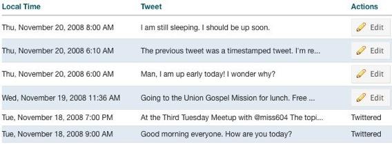 Twitter Timestamp