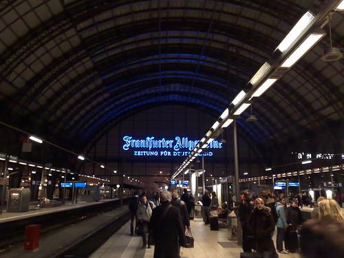 Frankfurt, Central Station