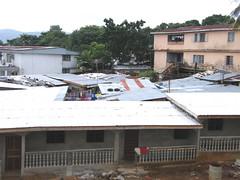 Rooftops (Karen Hlynsky) Tags: sierraleone westafrica freetown colefarm