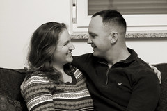 Love is in the air... (Julie Danielle) Tags: soldier couple married happycouple manandwife militaryman