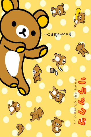 iPhone / iPod touch Wallpaper rilakkuma15