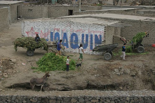 Poor village south of Trujillo...