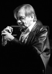 Mark E Smith, The Fall 20081030 Liverpool Nation UK (Hotpix [LRPS] Hanx for 1.5M Views) Tags: from lighting camera bw musician music white black slr fall monochrome leather club liverpool manchester photography mono rumble warrington punk tour mark district live stage gig group nation band smith courtyard photographic player tony event jacket e mtv indie imperial theme week sparta dslr fc performer society 2008 elana thefall signed bellhouse marke merseyside markesmith the solvent hotpix thenation tonysmith gyca 30102008 rowche hotpixuk wwwthewdccorguk thewdccorguk wdccorguk bellhouseclub anbiant tonysmithhotpix