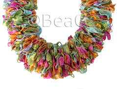 New Trend Fiesta Necklace (Made by BeaG) Tags: original party fashion creativity design necklace pretty artist treasure belgium designer handmade unique oneofakind ooak kunst belgi parties jewelry jewellery creation round colourful unica kleurrijk elastic unicum ketting innovative beag innovatief kunstenares innovantes uniquedesign ontwerpster originaldesigner creativedesigner inovadores trellisyarn newtrendfiesta designedandmadebybeag uniekontwerp ontworpenengemaaktdoorbeag trellisyarnnecklace trellisyarnjewelry