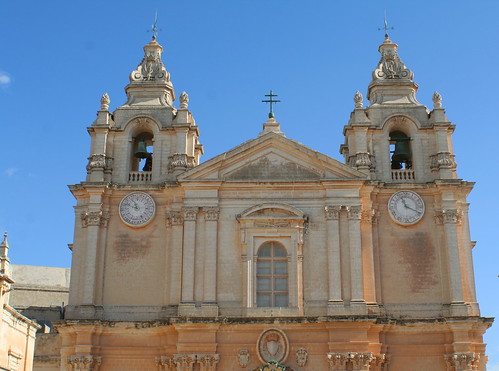 The Cathedral; Mdina, Malta