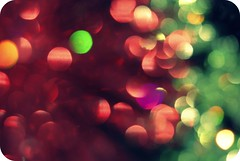 her dreams were speckled with colors (n.elle) Tags: christmas light red green glitter apartment bokeh sparkle ornaments 2008 nelle anytime hbw bokehlicious nikond80 nellephotography fiercelyunfocused bahahahathanksforthelasttagledio