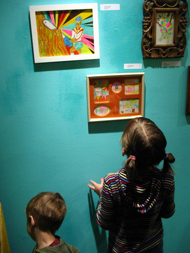 Young art admirers