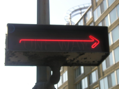 Neon Traffic sign