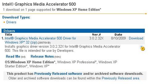 Intel bringt neuen Treiber für GMA500-Grafik | Mobilegeeks de