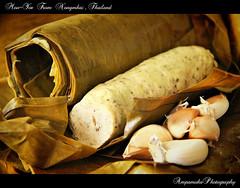 Moo-Yor From Nongnkai Ja/หมูยอหนองคายจ้า (AmpamukA) Tags: food ball thailand pepper pig moo pork thai spicy yor อาหาร ไทย หมู หนองคาย ยอ