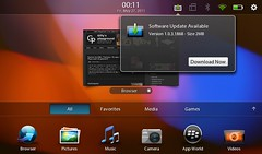 Blackberry Playbook Upload