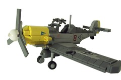 Messerschmitt Bf 109 E (Opx Rver) Tags: world africa two dog me plane germany airplane major fight war fighter lego aircraft air nazi hitler swastika wwii wing craft german e belguim cannon ww2 canopy helmut trop bf pilot 47 109 wick messerschmitt luftwaffe crosss