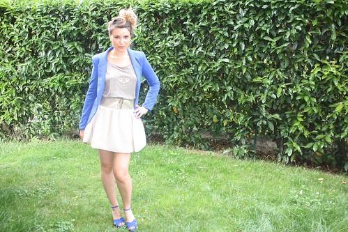 tenue complete bleu