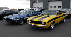 1969 Shelby and 1969 Camaro (1965 2+2) Tags: s197 icelandicmustangclub cruiseiniceland