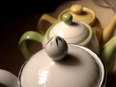 Teapots (Farmer Fantasy) Tags: tea kettle jug teapot pitcher cosy noggin