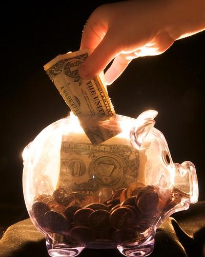 Durch Sparen zum Millionär