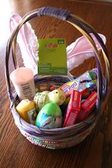 Easter basket surprise!