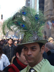 hrrmm (istolethetv) Tags: newyorkcity hat easter fun photo spring foto image manhattan snapshot picture photograph gothamist bonnet easterbonnet pasqua easterparade easterhat easterbonnetparade newyorkparade march232008