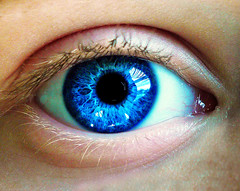 Through the eyes of a child (Amy V. Miller) Tags: blue macro eye face child lashes pupil mywinners abigfave goldsealofquality goldstaraward