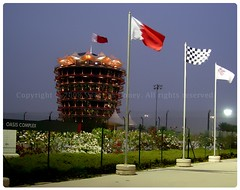 ~ Bahrain International Circuit ~ (` .) Tags: 6 tower night garden bahrain nikon sweet f1 flags honey coolpix april 2008 bic p5000