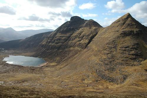 Spidean Coinich and Loch Bealach Cornaidh